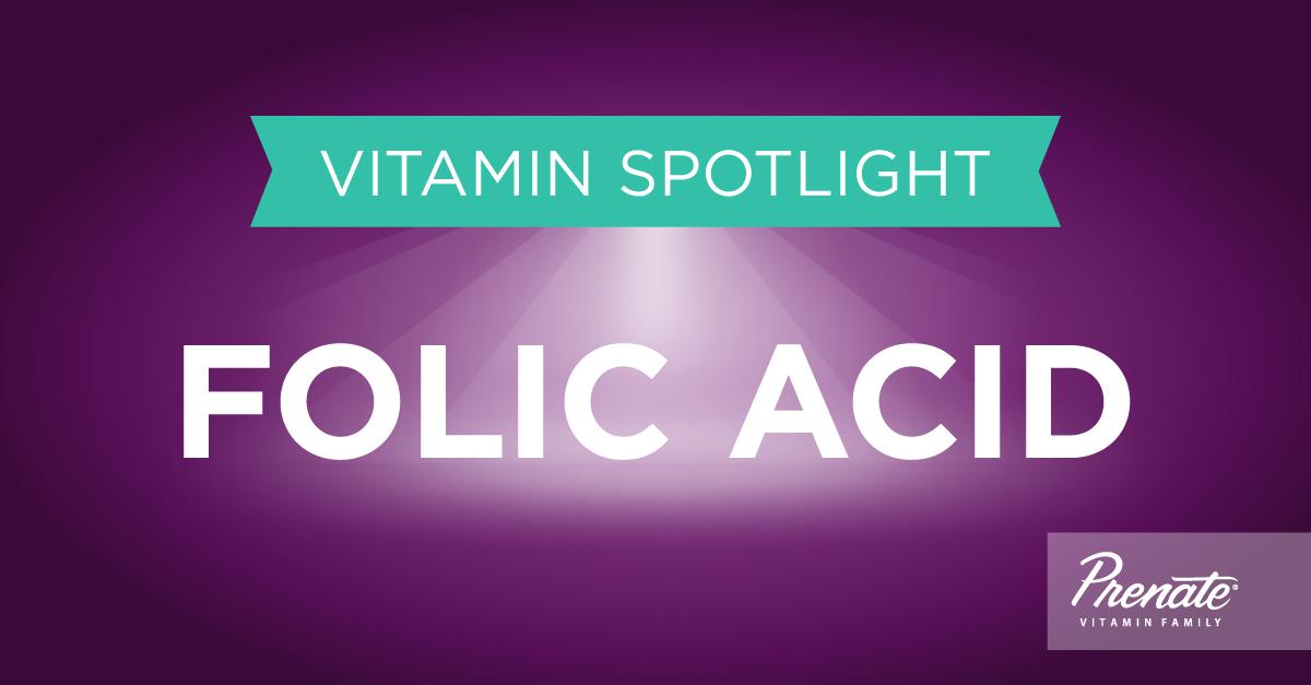 Prenatal Vitamins with Folic Acid