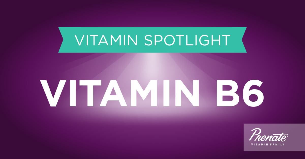 Prenatal Vitamins with Vitamin B6