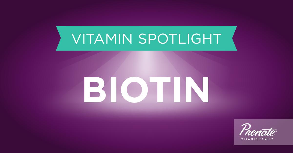 Prenatal Vitamins with Biotin,