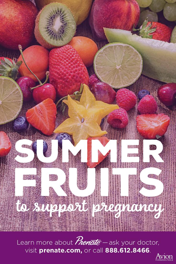 Prenatal Fruit Consumption Boosts >> Best Summer Fruits For Pregnancy Prenate Vitamin Family
