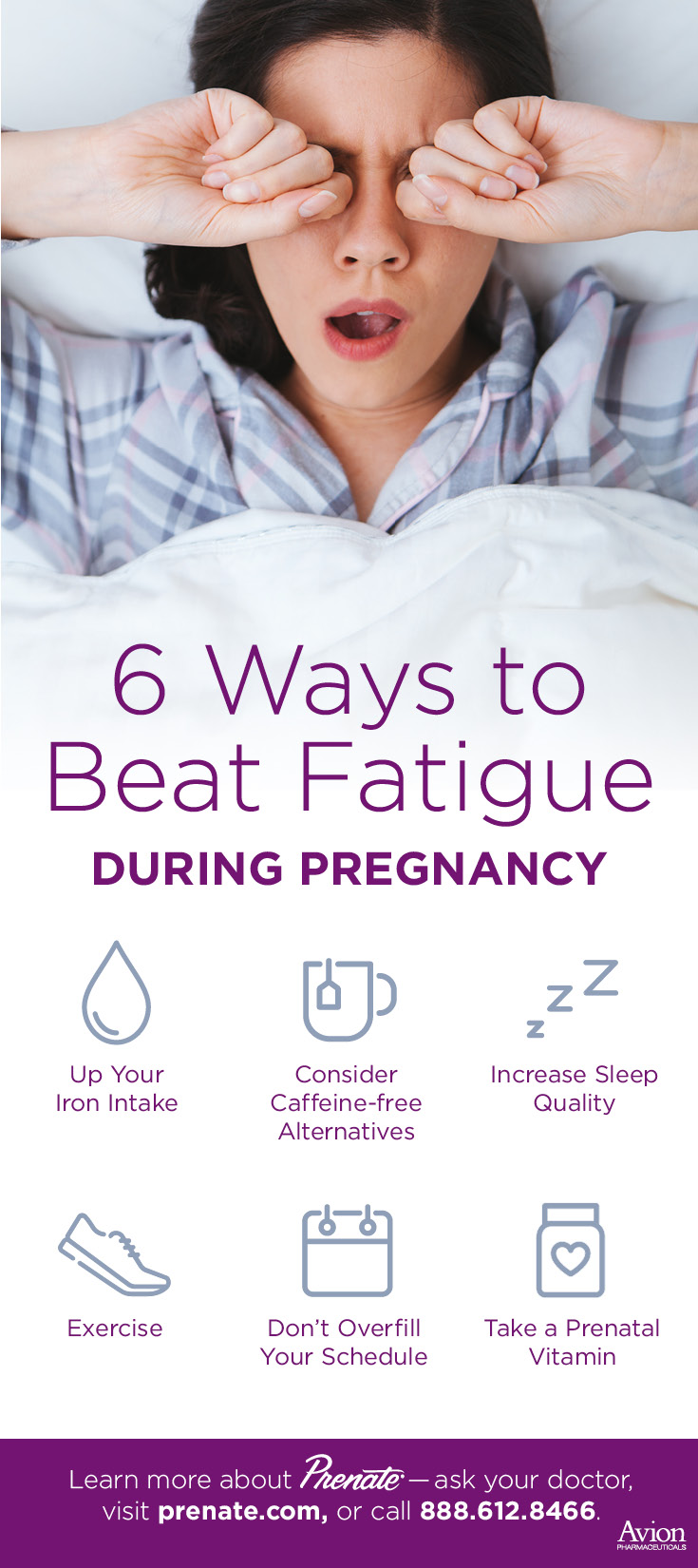 how to beat fatigue during pregnancy