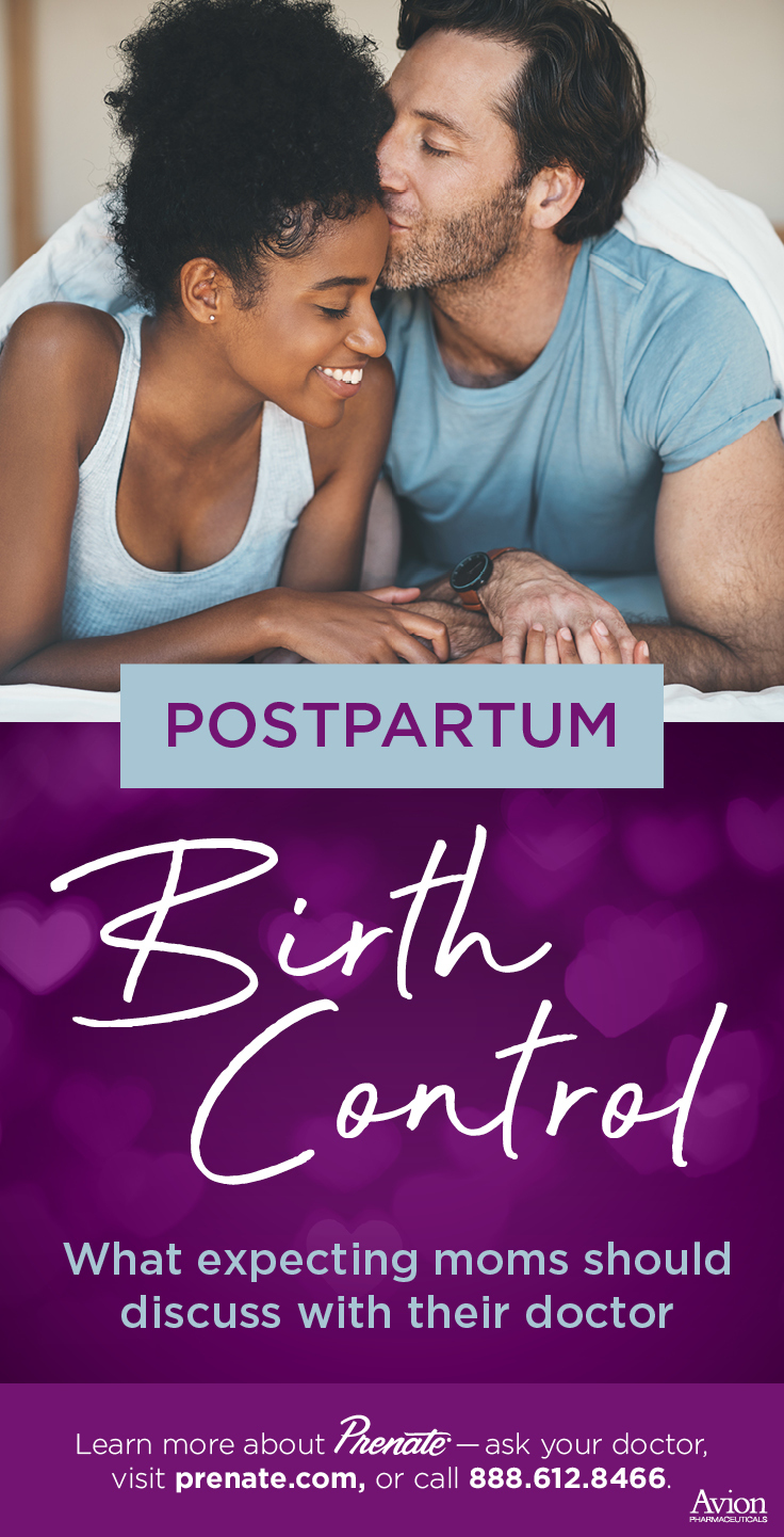postpartum birth control graphic