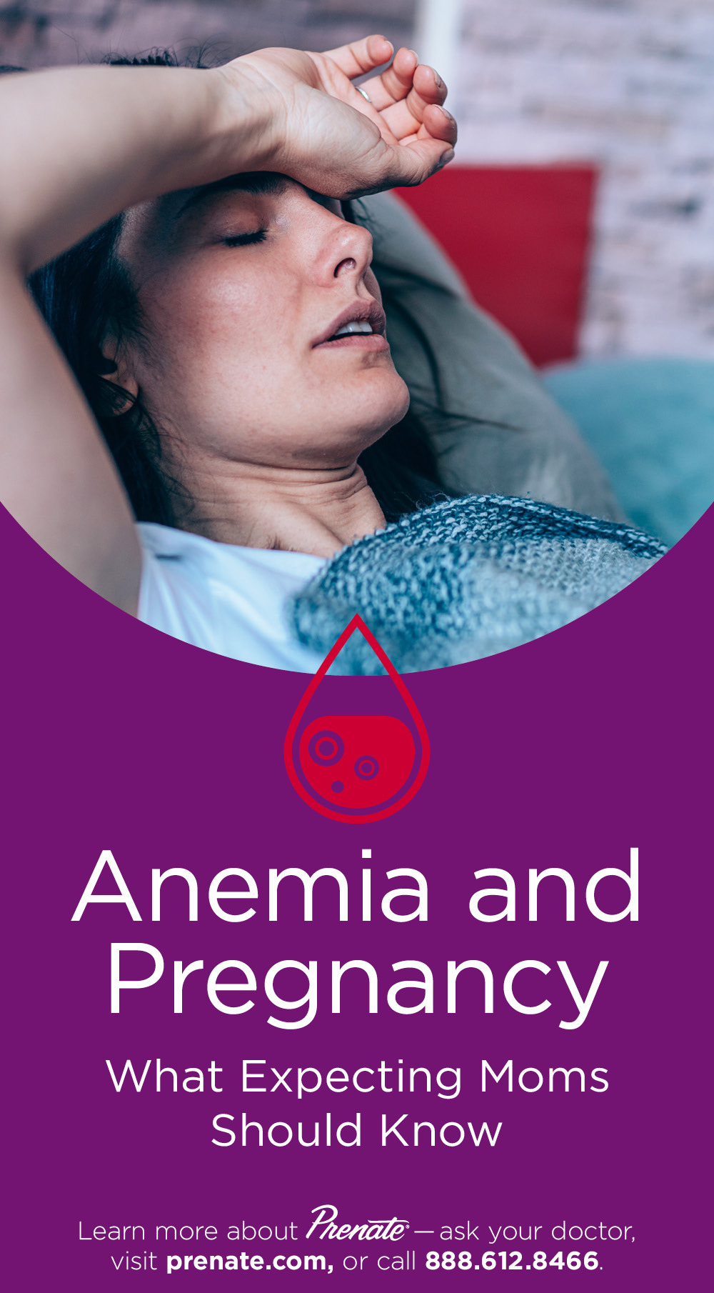 Anemia and pregnancy graphic