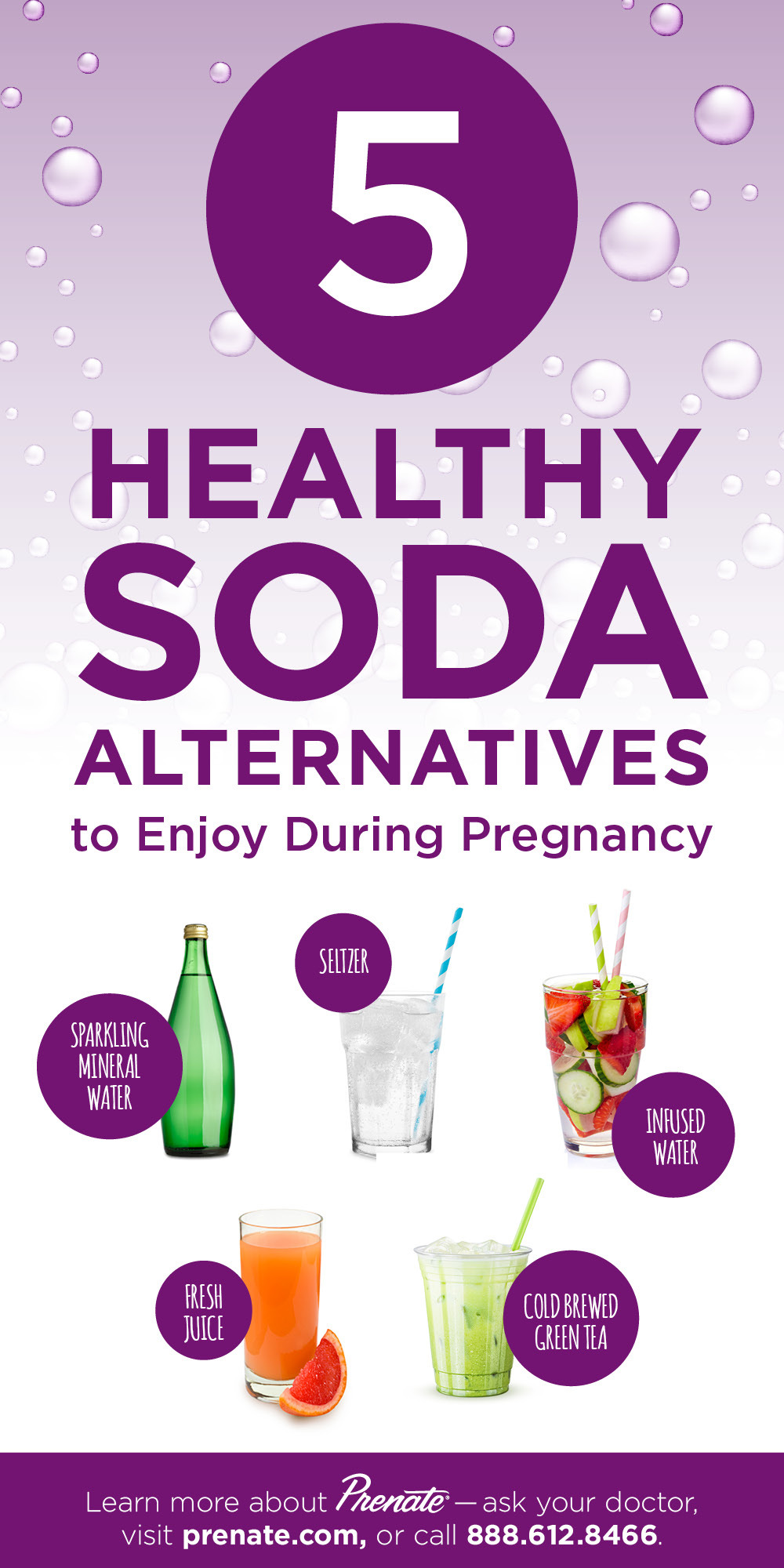 Healthy Soda Alternatives graphic