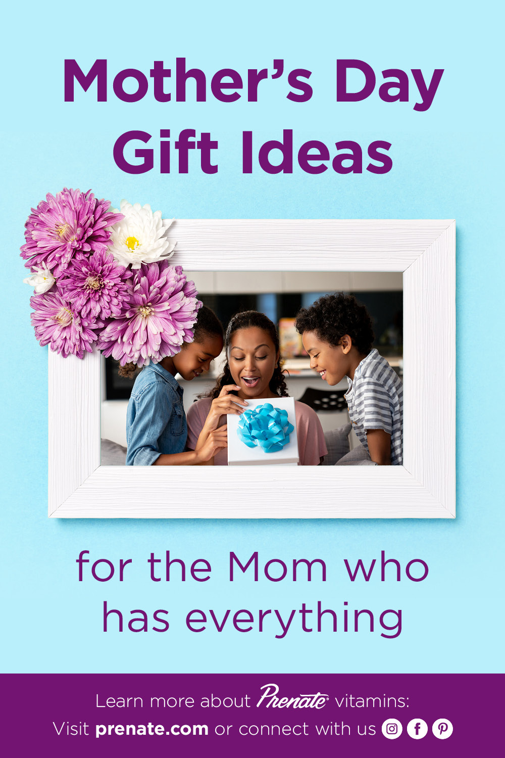 Mother's Day gift ideas pinterest graphic