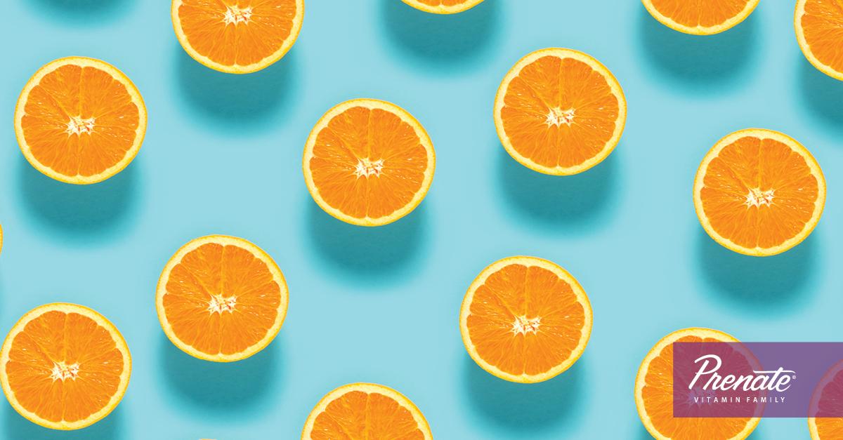 Graphic of oranges