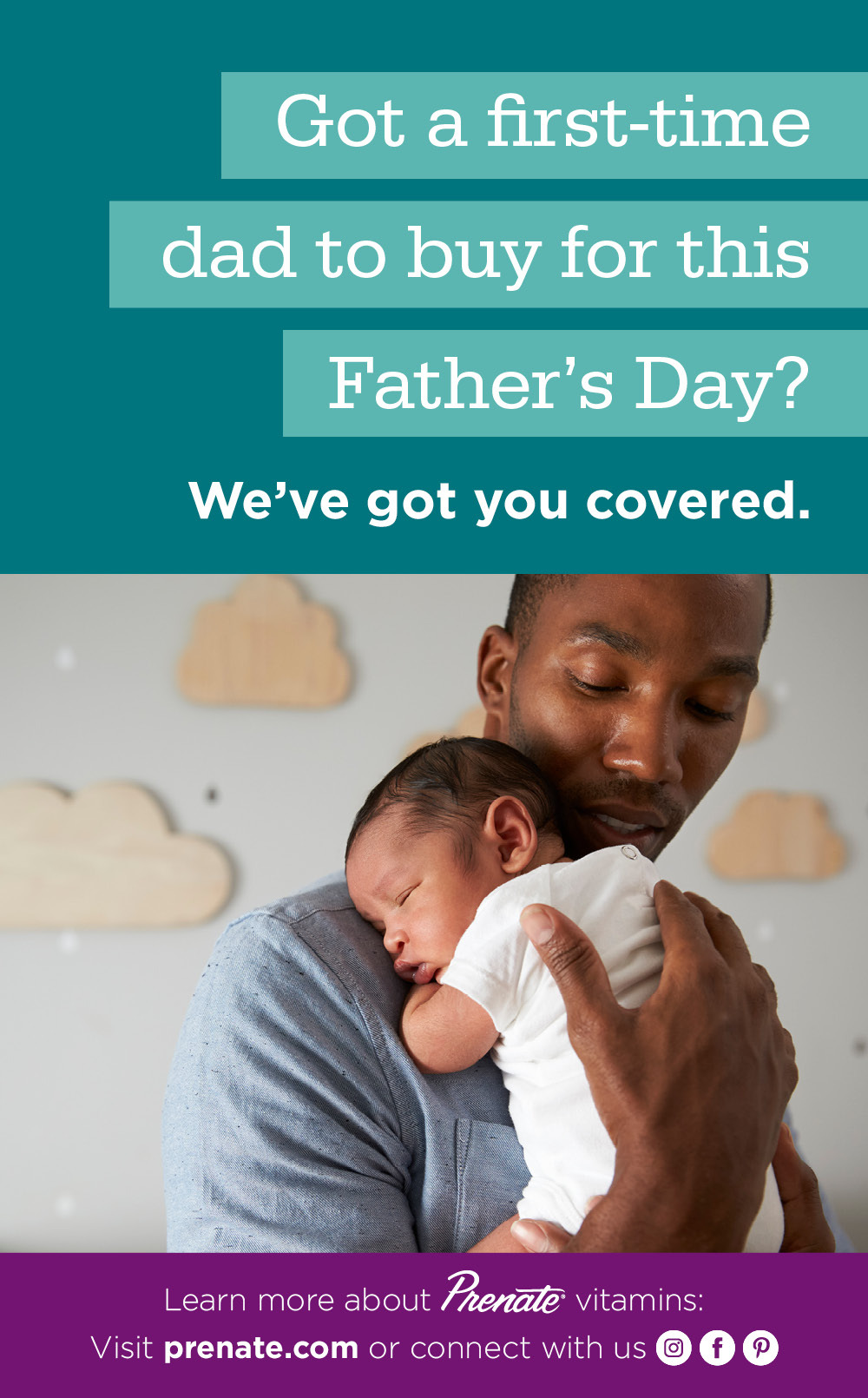 Father's Day Pinterest graphic