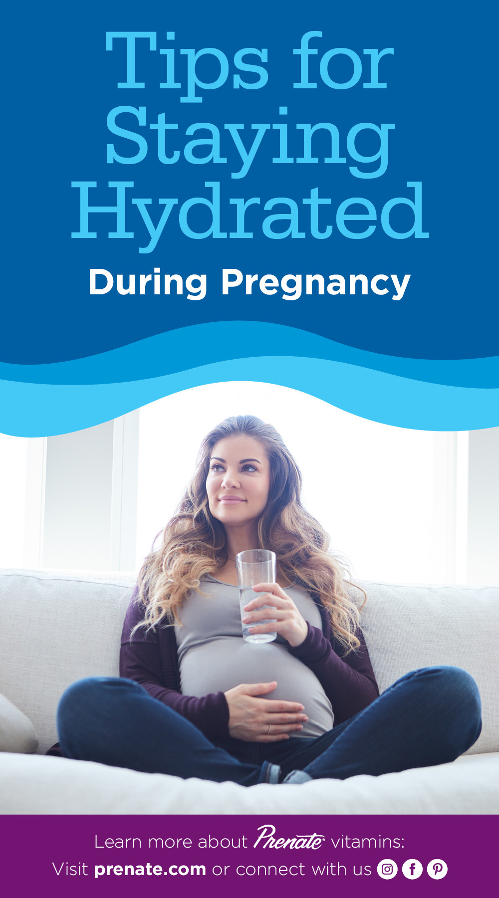 Staying hydrated while pregnant