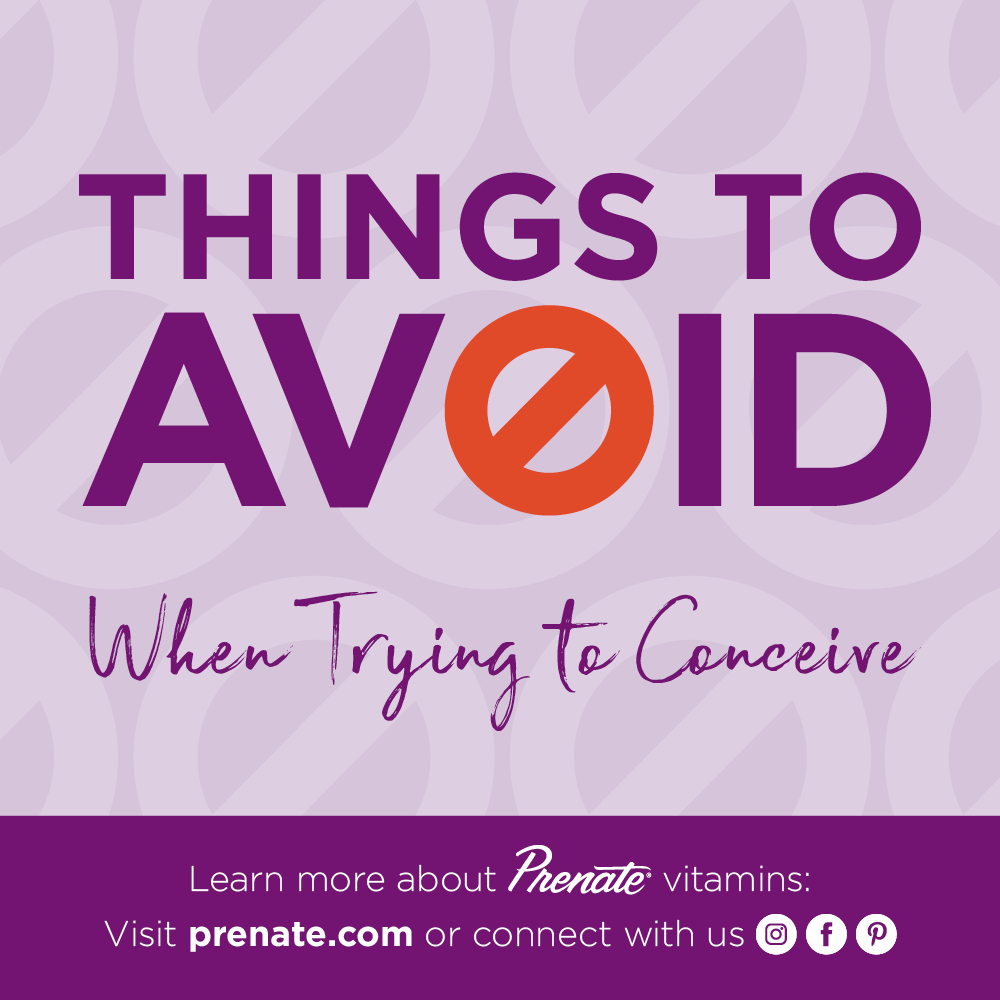 Things to avoid when trying to conceive graphic