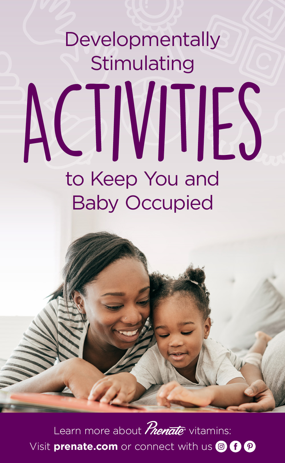 Activities to do with child Pinterest graphic